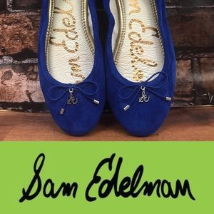 Sam Edelman Royal Blue Flats